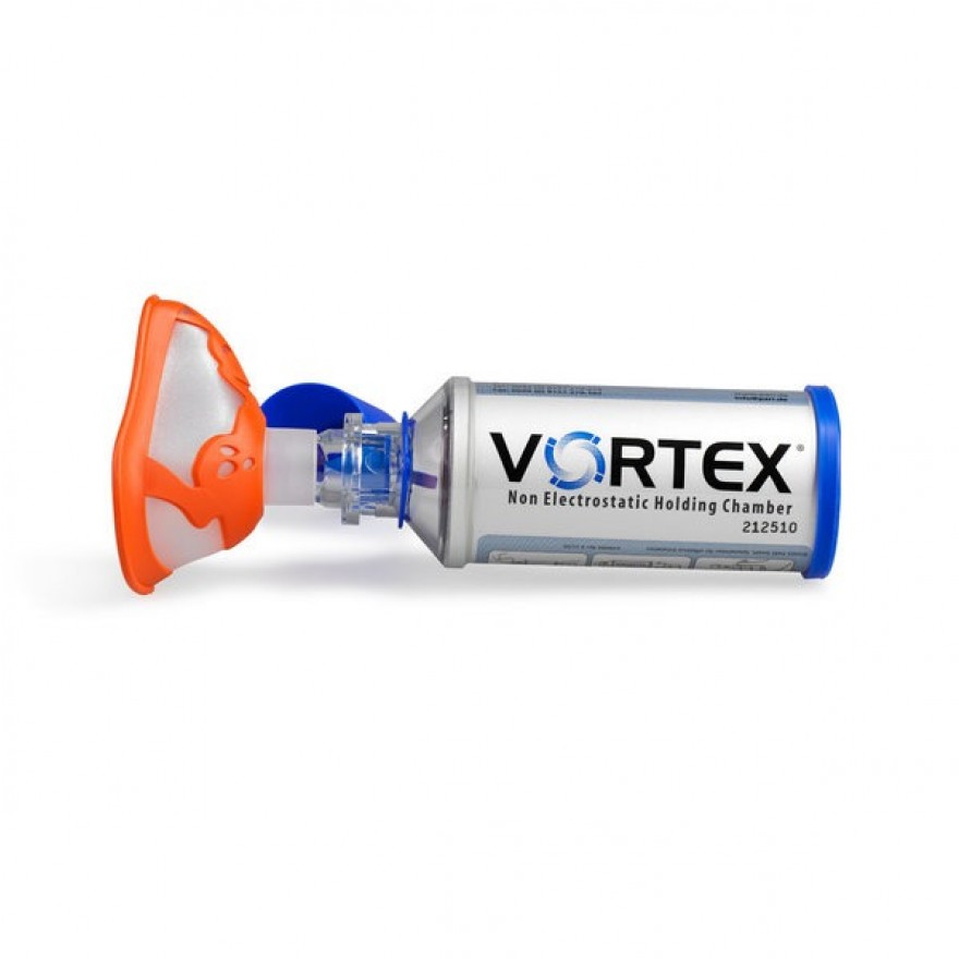 Vortex inhalationshilfe mit kindermaske frosch ab 2 jahre medic e u onlineshop - Vortex chambre inhalation ...